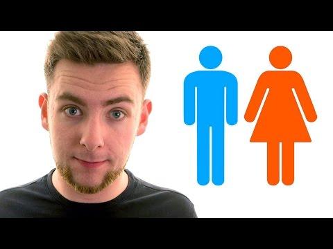 Laspetto di un uomo con un sesso femminile