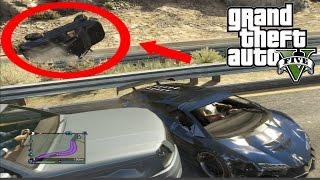 Best Car Crash Compilation #4 In Grand Theft Auto 5 (GTA V)