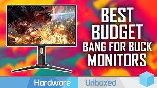 Best Budget Monitors 2020: 1080p, 1440p and Ultrawide Picks