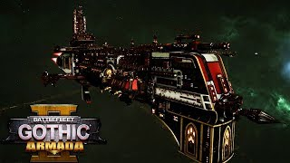 Ark Mechanicus Adeptus Mechanicus Vs Eldar Gothic Armada 2 Multiplayer Gameplay 2vs2
