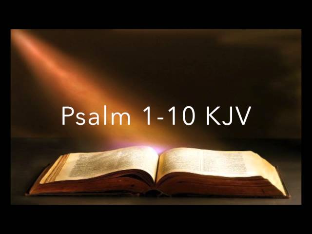 Psalm-chapters-1-10
