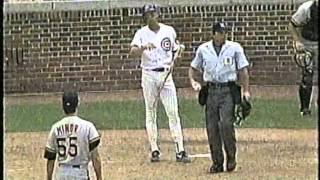 Cubs-Pirates, Aug. 2, 1993 (6th inning, brawls and HRs)