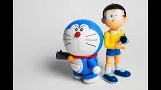 Doraemon Cartoon Drawing||How to Draw A Cartoon-Step By Step - Video Youtube