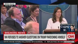 Sanders refuses to clarify her own comments about misleading Russia statement (3/3)