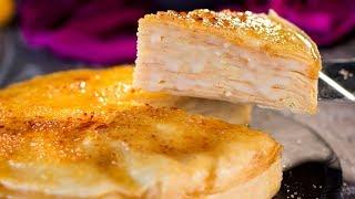 Ciasto naleśnikowe z kremem - niezwykle smaczne i wyjątkowo pachnące! | Smaczny.TV