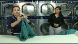 How to REALLY Operate a Successful Laundromat - Folding Techniques