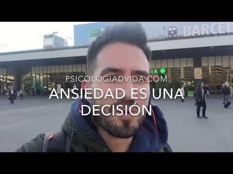 Ansiedad es una decisión