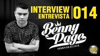 Interview | Entrevista | #014 - Benny Page