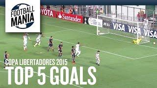 Top 5 Goals - Libertadores: April 22th