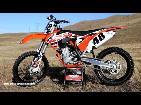 First Ride 2015 KTM 450SXF Motocross Action Magazine