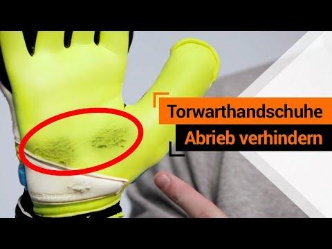 Wie halten Torwarthandschuhe länger & warum gibt es Abrieb? - T1TAN Tipps