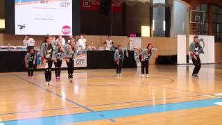 HIP-HOP-Formation der Tanzschule Kazianka II