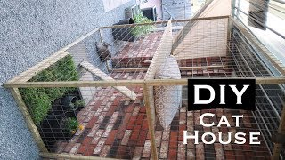 DIY INEXPENSIVE OUTDOOR CAT HOUSE