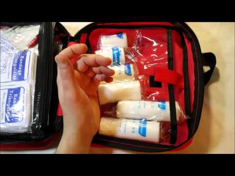 Life Plus Emergency First Aid Survival Kit Unboxing Review