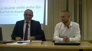 Conférence Dr.Jameleddine Ben Abdeljelil : «La théorie de la double vérité entre Ibn Rochd et Averroes». 1/3