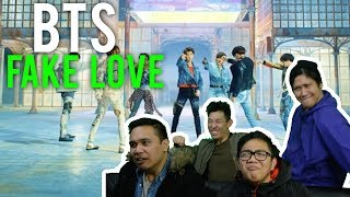 "BTS have no ""FAKE LOVE"" (MV Reaction) #BLOODYBEAUTIFUL"