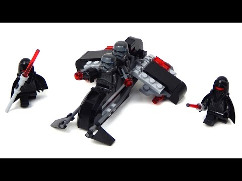 Vidéo LEGO Star Wars 75079 : Shadow Troopers