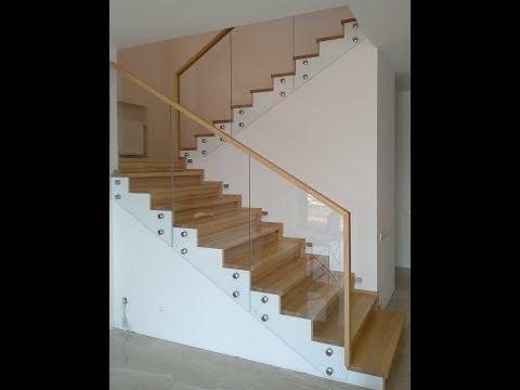 Отделка бетонной лестницы деревом. Новый вариант .