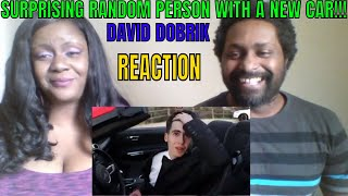 David Dobrik SURPRISING RANDOM PERSON WITH A NEW CAR!! REACTION