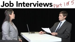 How to Interview for a Job in American English, part 1/5