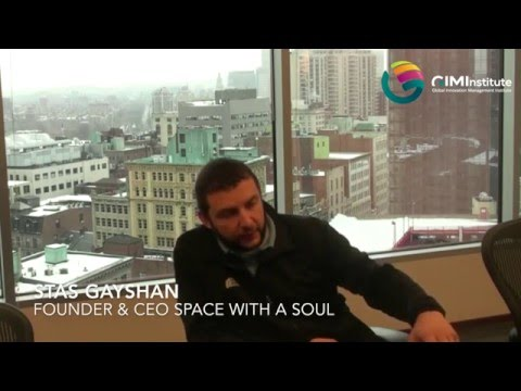 Innovation in Business & Politics by Stas Gayshan, CEO and Founder of Space with a Soul