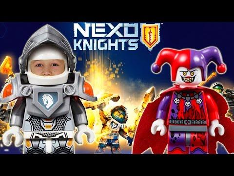 LEGO NEXO Knights Merlok 2.0 на русском языке. Прохождение игры ЛЕГО НЕКСО Найтс