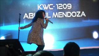 Abigail Mendoza - Karaoke World Championships - Top 5 Female