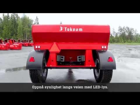 Tokvam Strøvogn SV-serie - film på YouTube