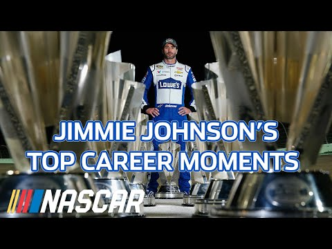 Jimmie Johnson's biggest and best career moments : Best of NASCAR