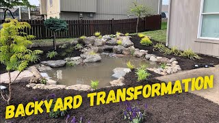 How To Build A Backyard Pond In 7 Hours! Part 1