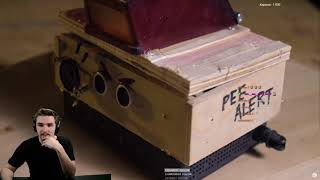 Реакция Диктора на: Сигнализация от ссыкуна PEE ALERT. Новейшее изобретение.