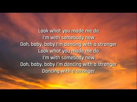 Sam Smith &  Normani - Dancing With A Stranger (Lyrics)