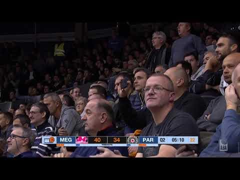 ABA Liga 2019/20 highlights, Round 10: Mega Bemax - Partizan NIS (6.12.2019)