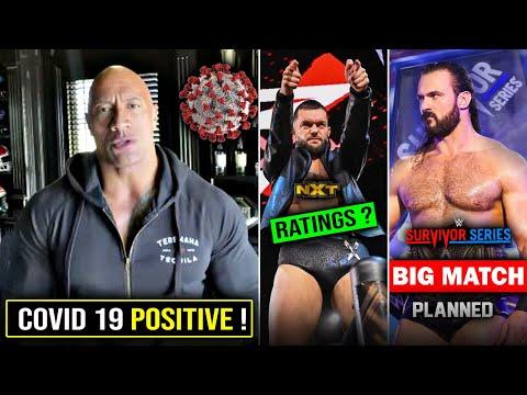 The Rock Ko Ho Gaya CORONAVIRUS* 😥, Dwayne Johnson TESTED Covid- 19 Positive ! Survivor Series 2020