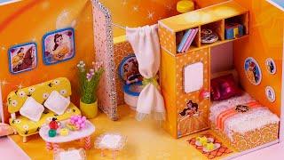 DIY Miniatures Dollhouse ~ Belle Room Decor ~ 미니어처 인형 집
