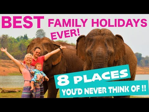 BEST Family Holiday Destinations 2019 | Places to Travel with Family! (ideas others don't think of!)