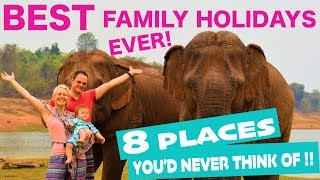 BEST Family Holiday Destinations 2020 | Places To Travel With Family! (ideas Others Dont Think Of!)