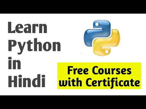Free Python Courses with Certificate - YouTube