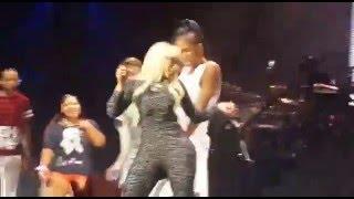 Fan Makes Nicki Minaj Walk Off Stage In South Africa. @darrendivine