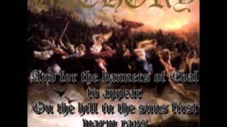 Bathory - A Fine Day To Die [With Lyrics]