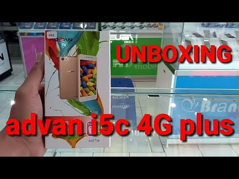 ADVAN I5C 4G PLUS (UNBOXING) LIKE NEW EDITION