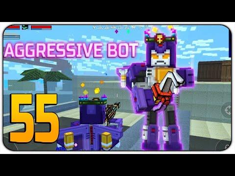 Aggressive Bot - Battle Royale Victory - New Battle Pass Update - pixel gun 3d
