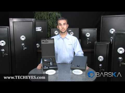Compact Portable Digital Keypad Safe by Barska AX11968 Video-Review by www.TECHEYES.com