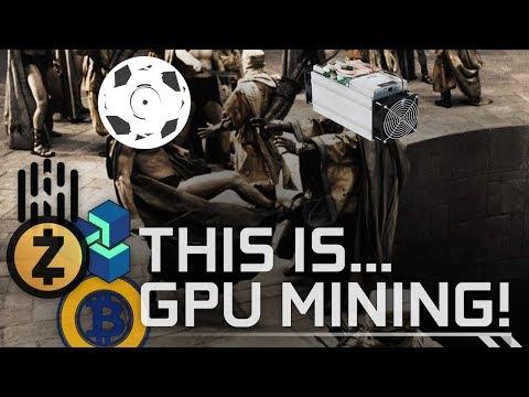 Are ASIC Miners Taking Over Equihash GPU Mining? #ZenCash #ZCash #Hush