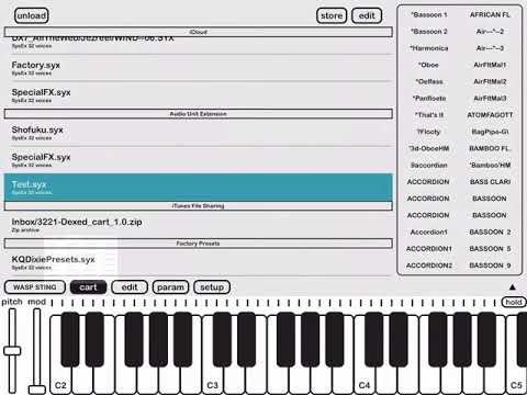KQ Dixie new AU FM synth - Page 9 — Audiobus Forum