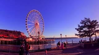 Seattle Great Wheel on the Water