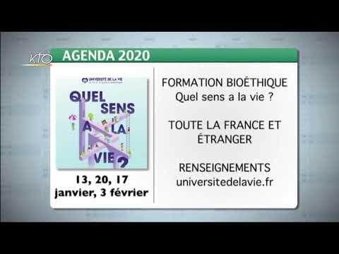 Agenda du 6 janvier 2020