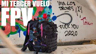 Vuelo DRON FPV en una FABRICA ABANDONADA