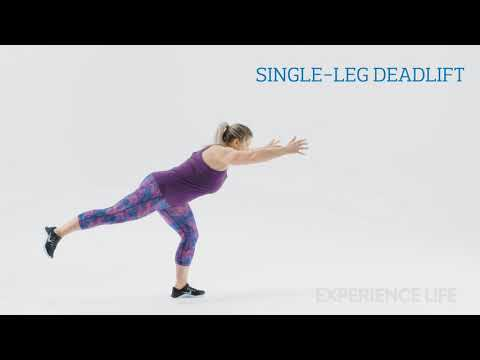 The Happy-Hamstrings Workout: Single-Leg Deadlift