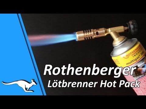 """Rothenberger Lötbrenner """"Hot Pack"""""""